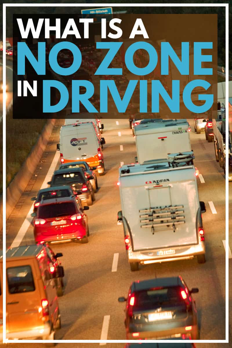 What is a No Zone in Driving?