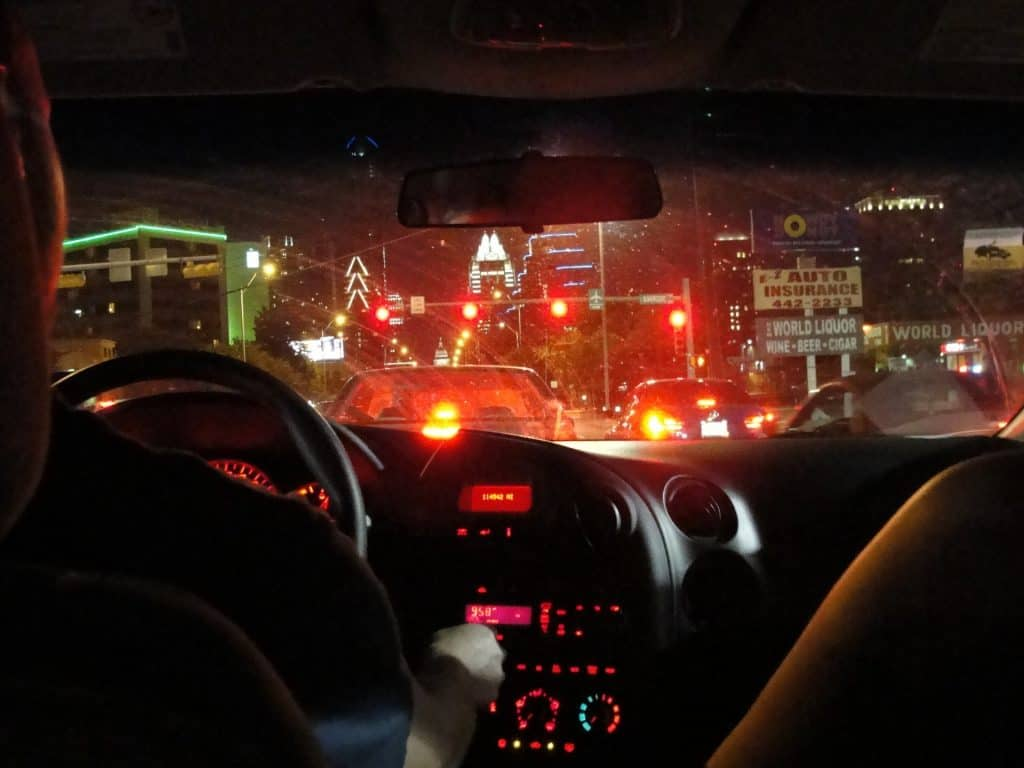 What Time is Considered Night Time Driving?