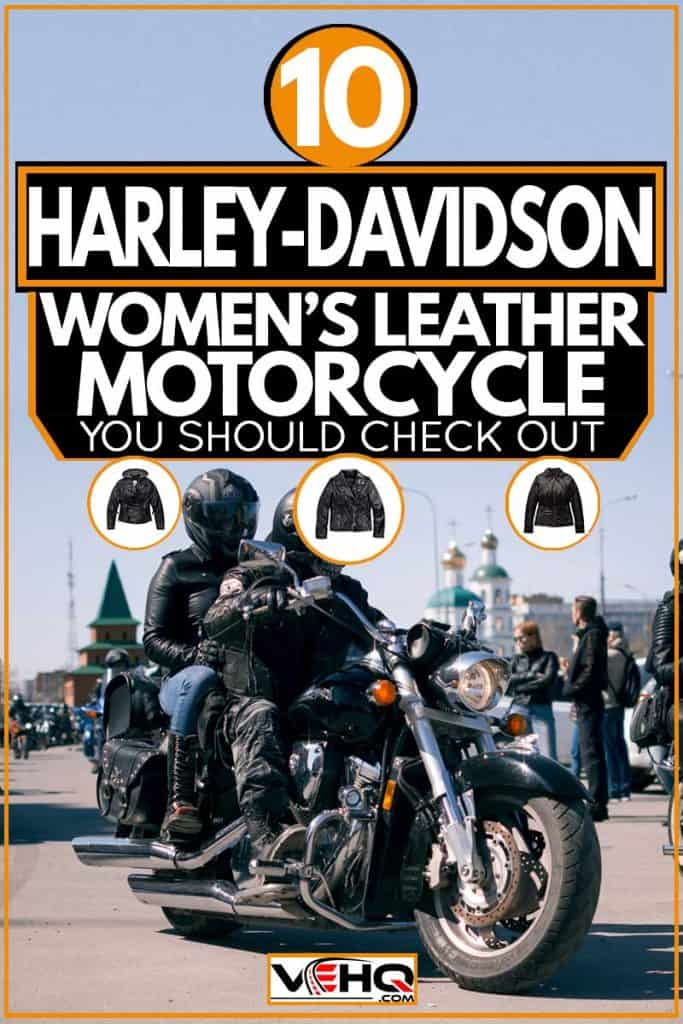 10 Harley Davidson Women's Leather Motorcycle Jackets You Should Check Out