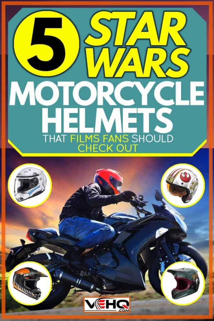 5 Star Wars Motorcycle Helmets That Film Fans Should Check Out