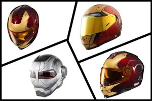 Five Iron Man Motorcycle Helmets For Marvel Fans