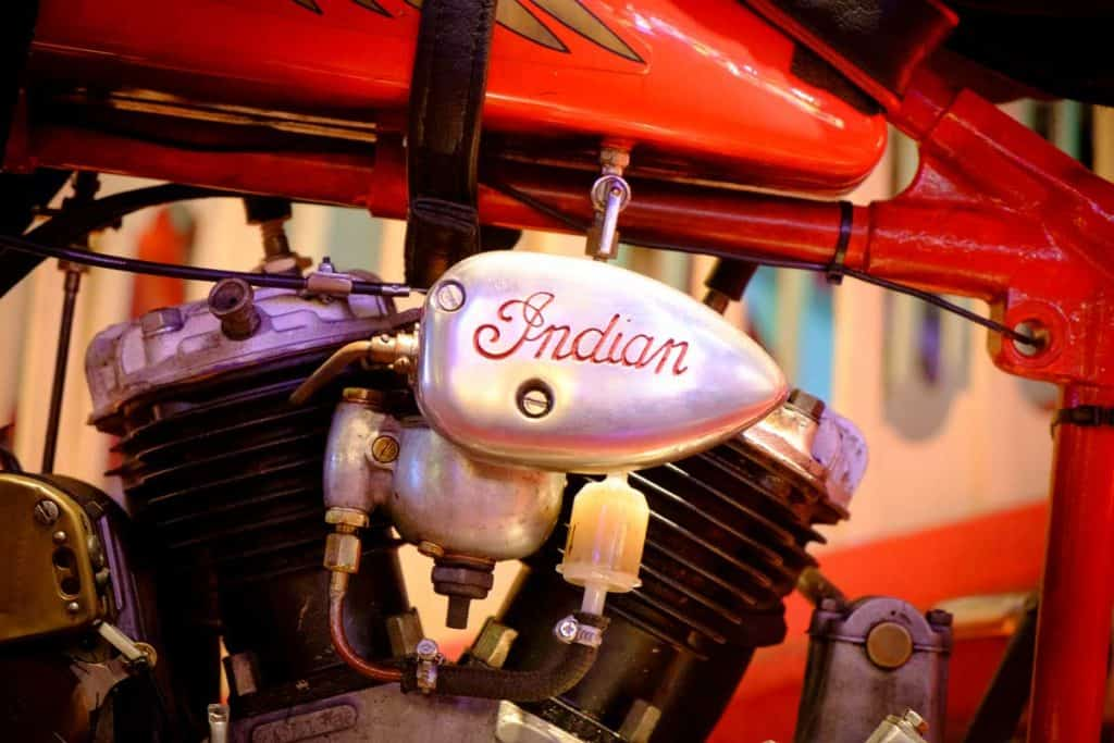 Indian-is-an-American-brand-of-motorcycles-originally-produced-from-1901-to-1953-in-Springfield,-Massachusetts,-United-States.