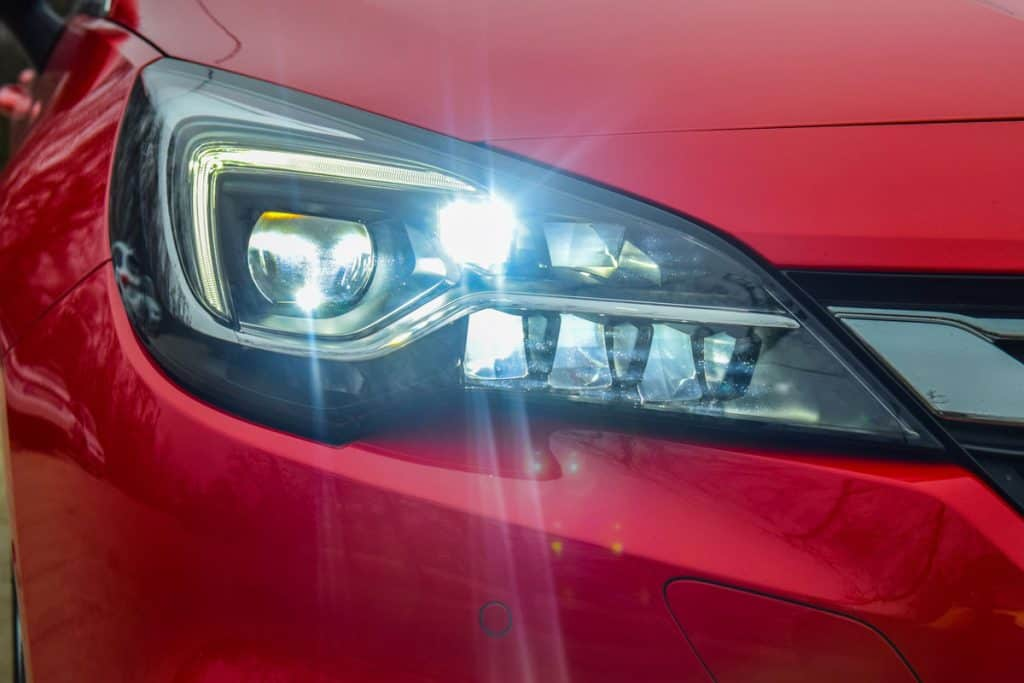 Car blinding LED Headlights