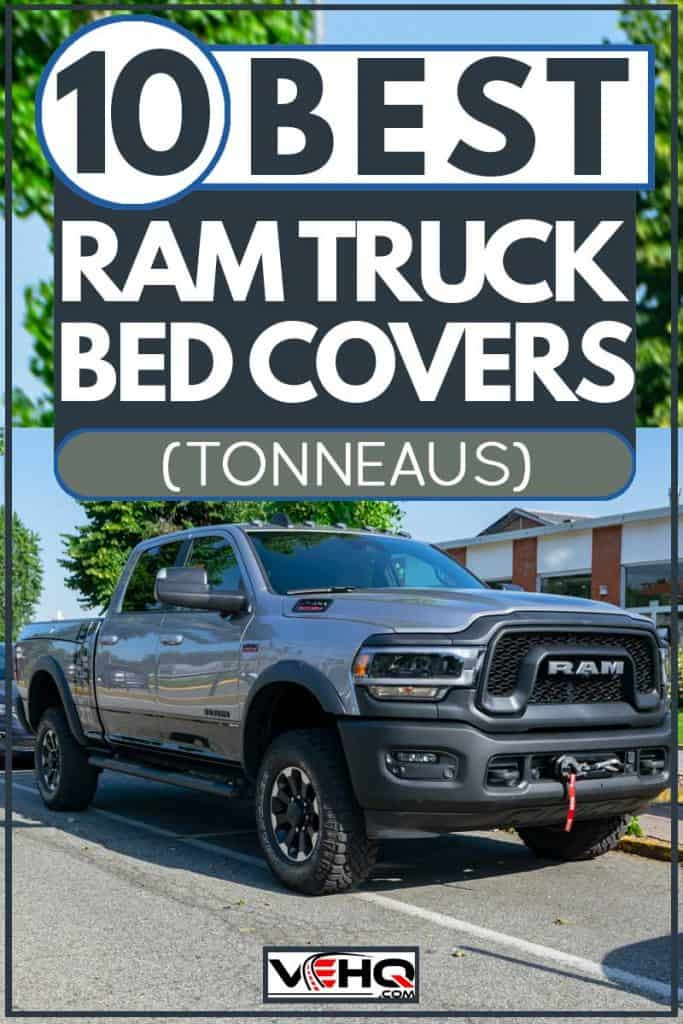 Grey 2019 Ram 2500 Heavy Duty Truck Parked in Street