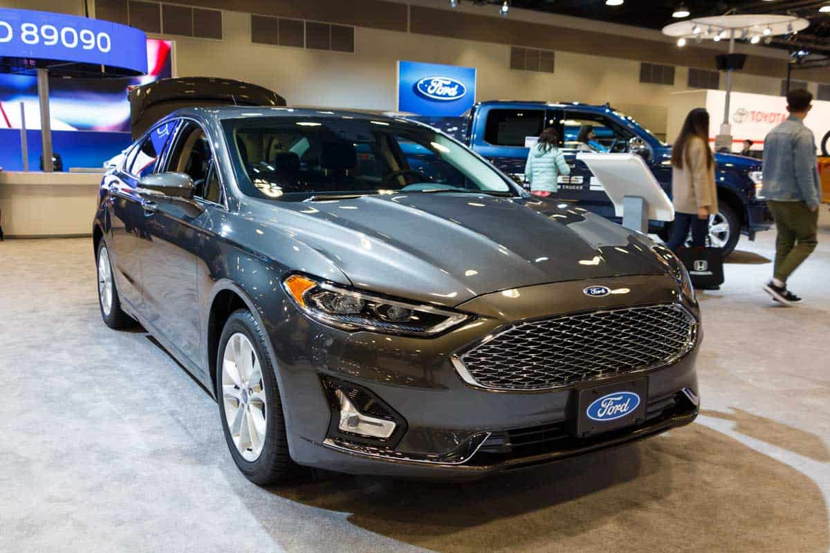 2019 Ford Fusion in Autoshow
