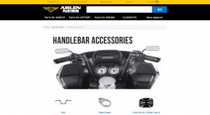 Arlen Ness website product oage