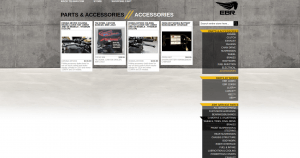 Erik Buell Racing website product page