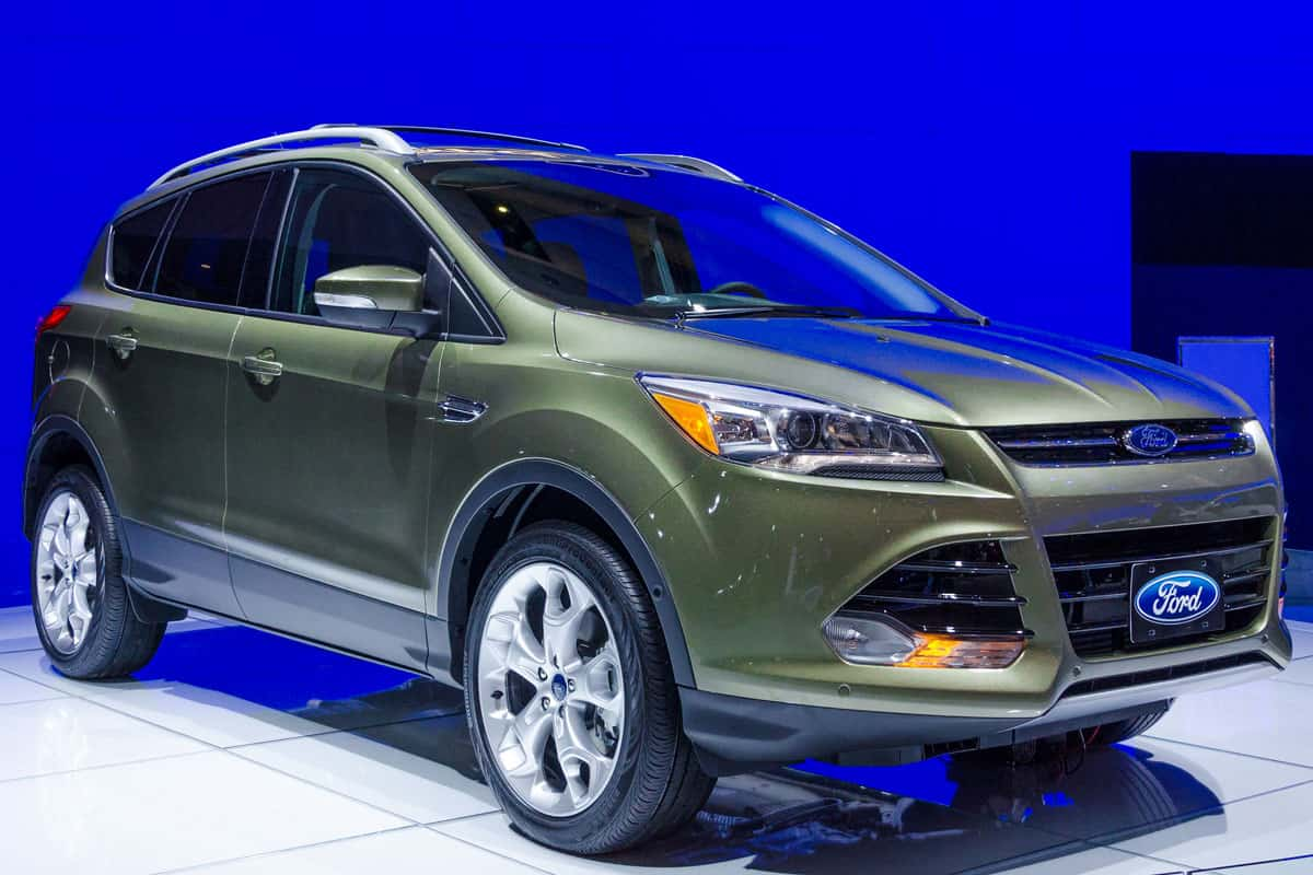 Exhibition of the Ford Escape Titanium during the Toronto's International Auto Show