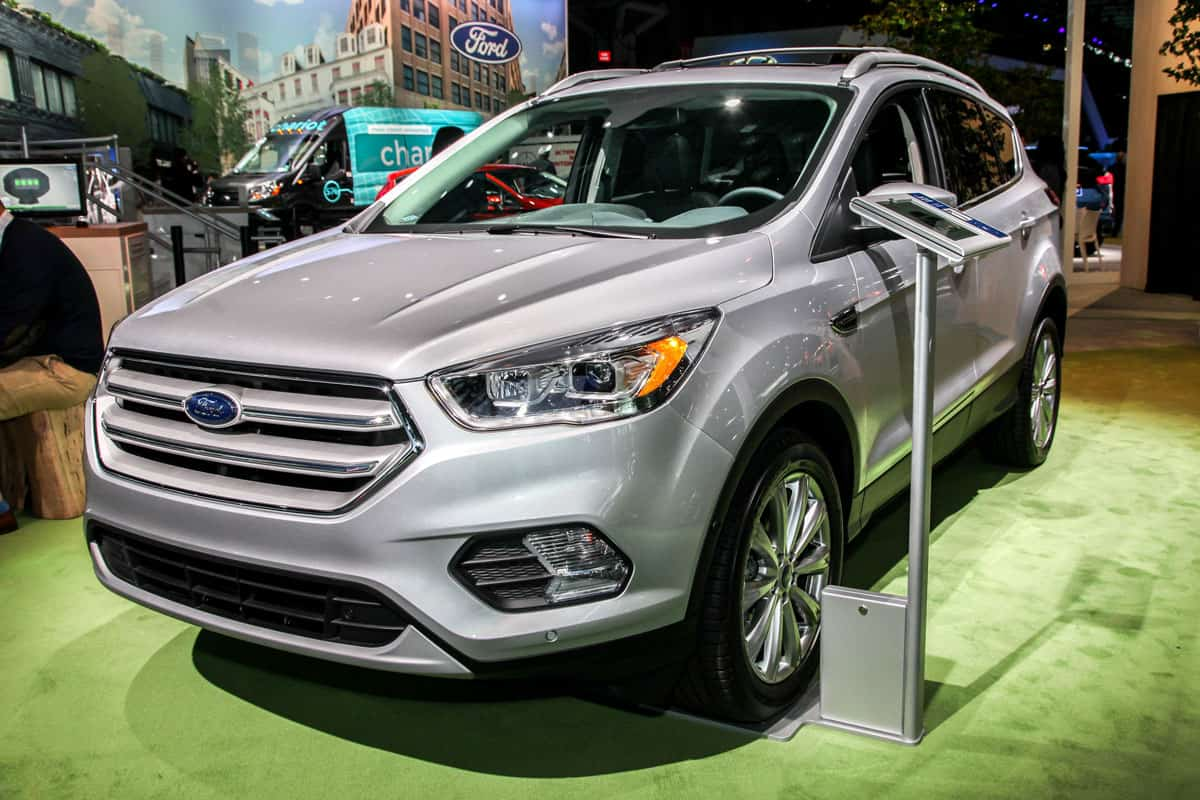 Ford Escape Titanium shown at the New York International Auto Show