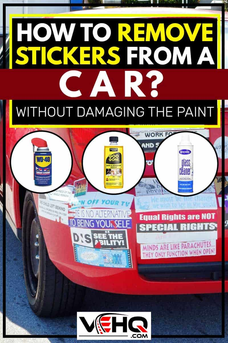 How to Remove Stickers from a Car (Without Damaging the Paint)