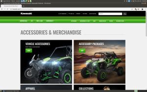 Kawaasaki product webpage