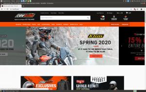 Revzilla Website homepage