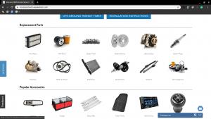 Honda Parts Wholesale Direct page for Honda parts