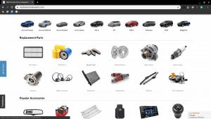 Majestic Honda page for Honda parts