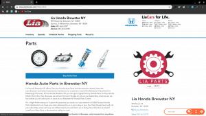 Bruster Honda page for Honda parts