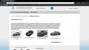 Wholesale Direct page for Honda parts