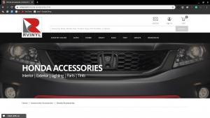 RVINYL page for Honda parts