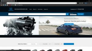 Whole Sale Honda Parts page for Honda parts