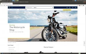 Walmart website homepage