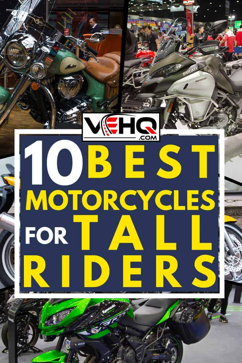 A collage of best motorcycles for tall riders, 10 Best Motorcycles For Tall Riders