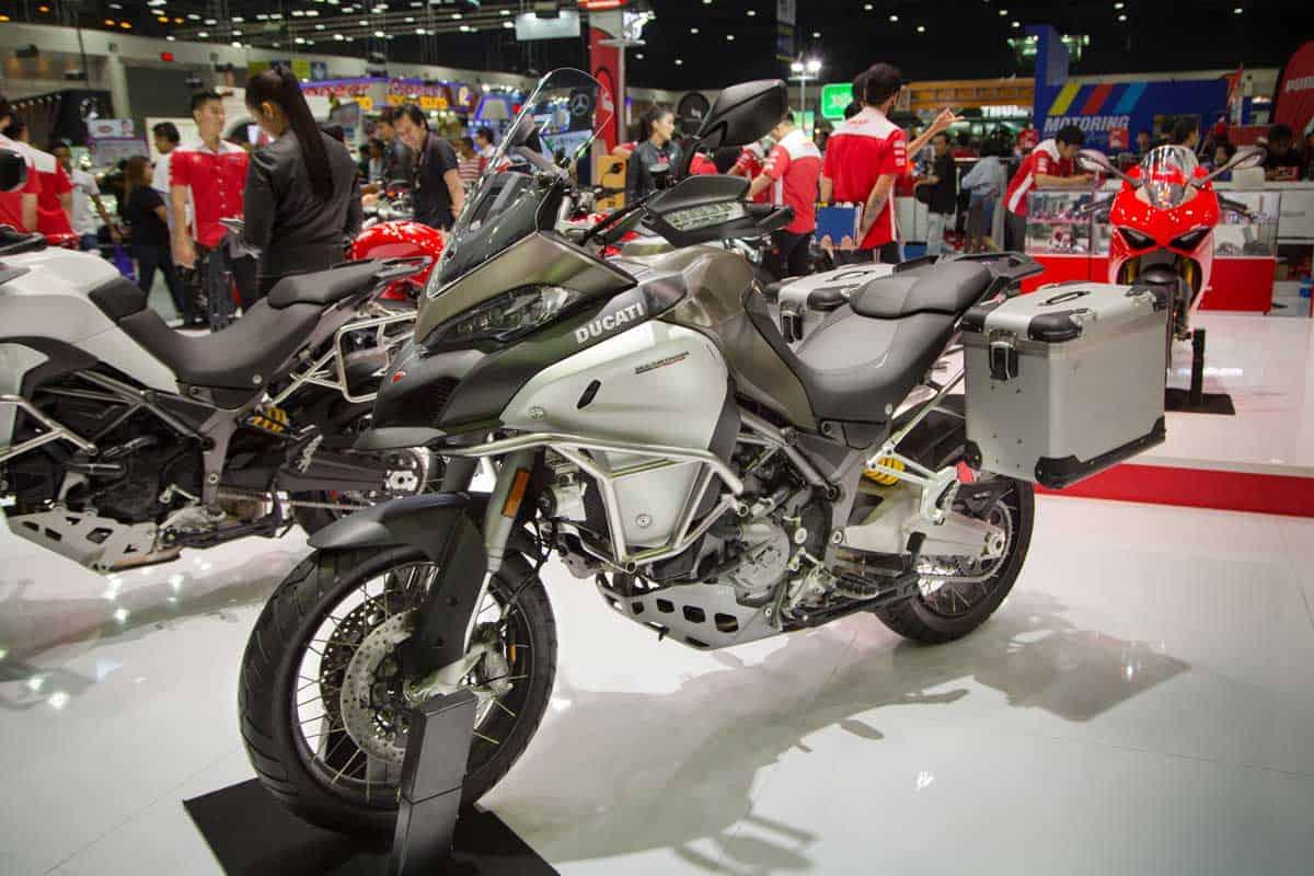 Ducati Multistrada 1200 Enduro presented in Motor Expo 2017