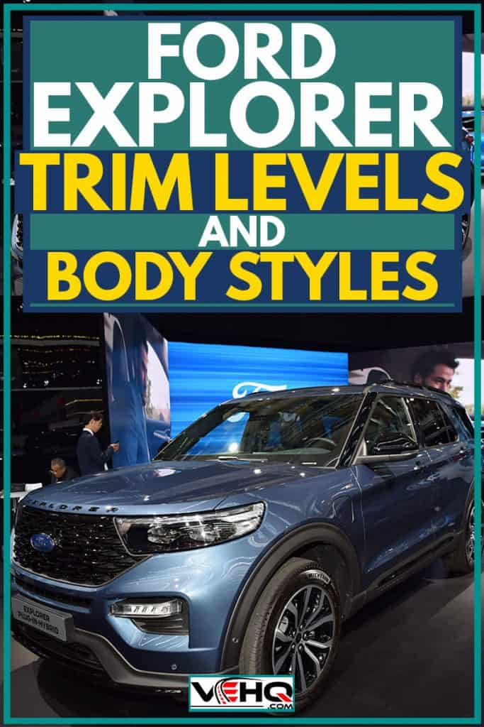 Blue 2019 Ford Explorer at car show, Ford Explorer Trim Levels And Body Styles