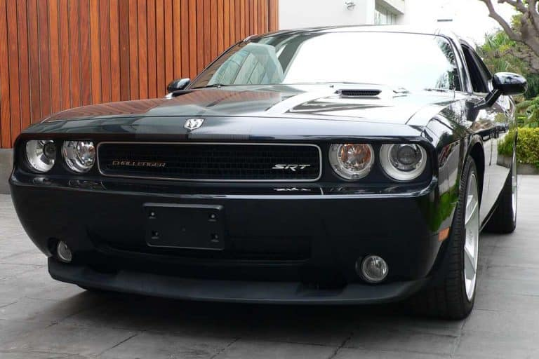 Gray Dodge Challenger SRT8 HEMI 6.1. V8 engine, What Is A Pony Car? [Inc. Examples]