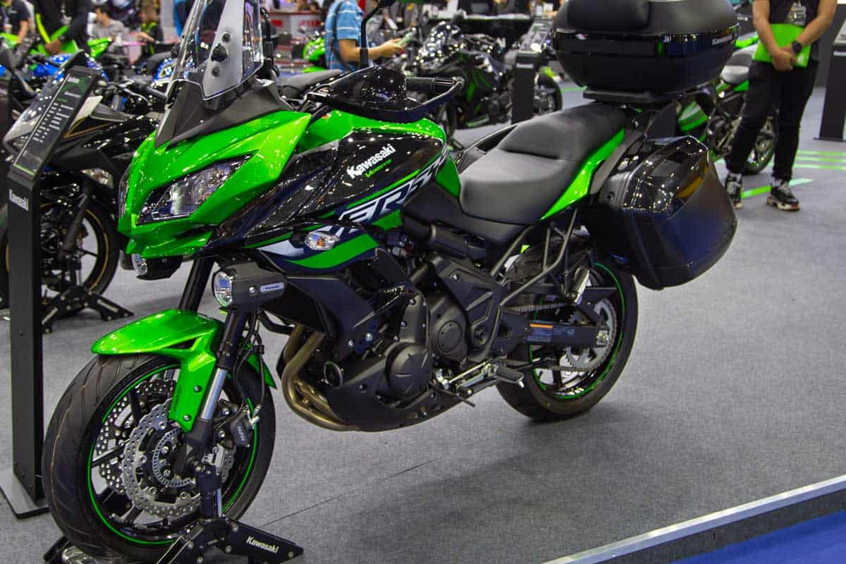 Kawasaki Versys 650 ABS touring motorcycle presented in Big Motor Sale 2018