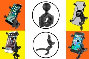 Ram Cell Phone Mounts for Motorcycles [10 Models Examined]