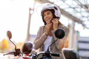 12 Gorgeous Women's Motorcycle Half Helmets (Inc. With Visor)