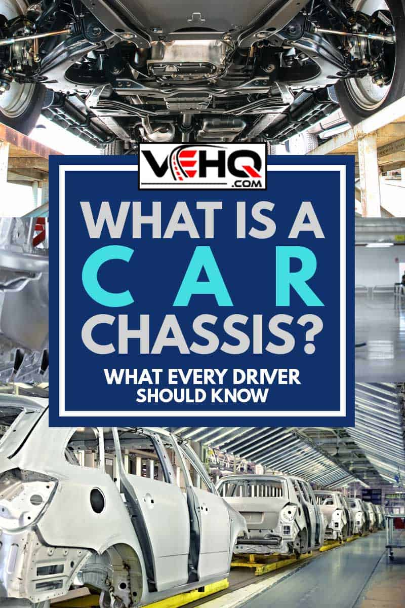 A collage of car chassis, What Is A Car Chassis? What Every Driver Should Know
