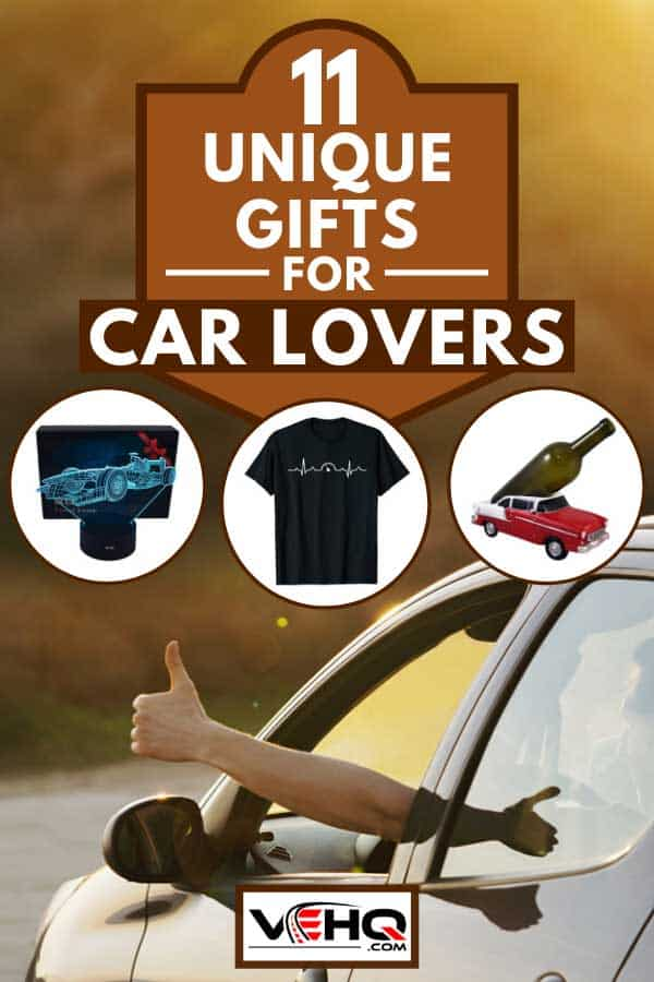 Man showing thumbs up from car window, 11 Unique Gifts For Car Lovers