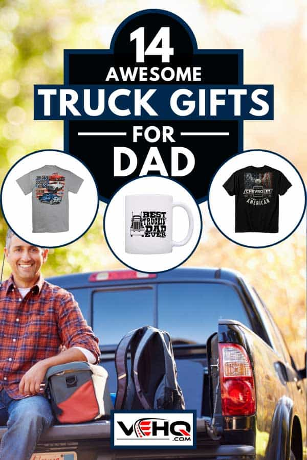 Man sitting in pick up truck on a camping holiday, 14 Awesome Truck Gifts For Dad