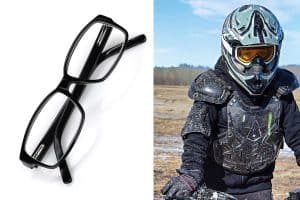 Can You Wear Motorcycle Goggles Over Glasses?
