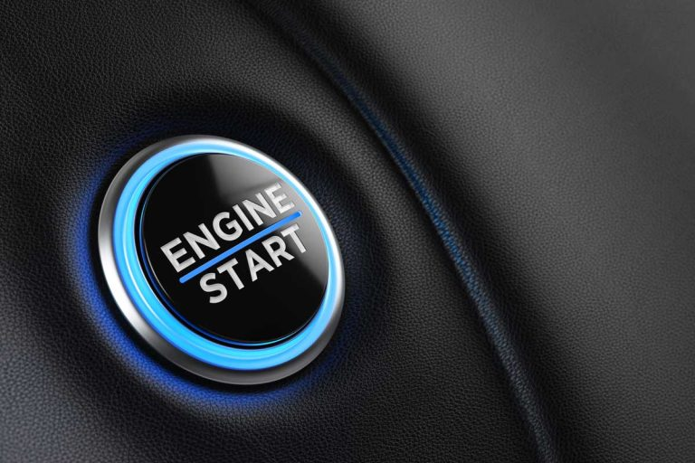 A push button to start the engine, How To Start A Push-Start Car