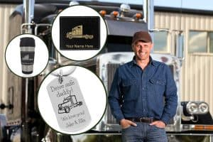10 Ideas for Personalized Truck Driver Gifts