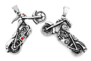 Motorcycle keychains on white background, 11 Cheap - But Cool! - Gifts for Motorcycle Riders
