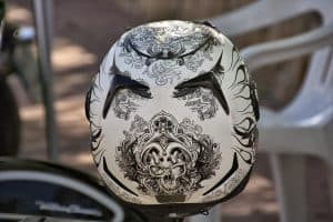 How Can I Decorate My Motorcycle Helmet?