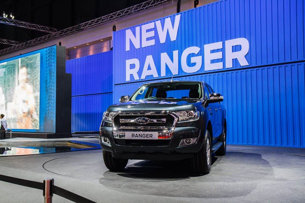 A tough and brand new Ford Ranger FX4