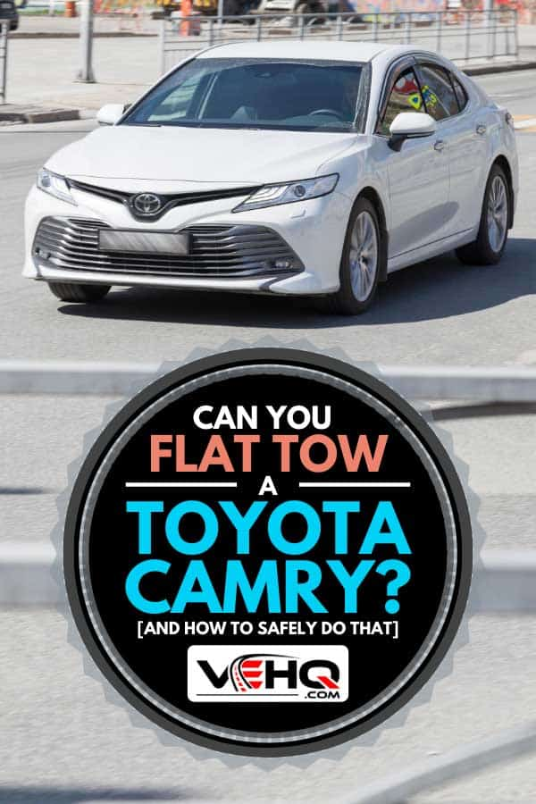 New Toyota brand car model Camry white, Can You Flat Tow A Toyota Camry? [And how to safely do that]