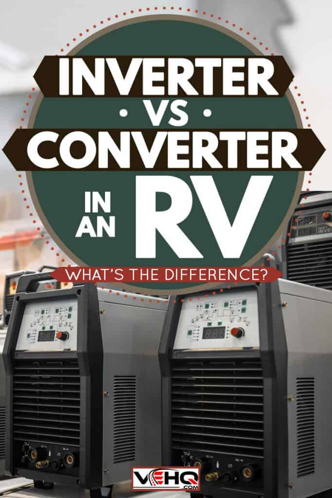 A close up image of an inverter, Inverter VS Converter In An RV: What's The Difference?