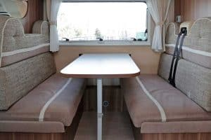 What Are the Typical Dinette Booth Dimensions in an RV?