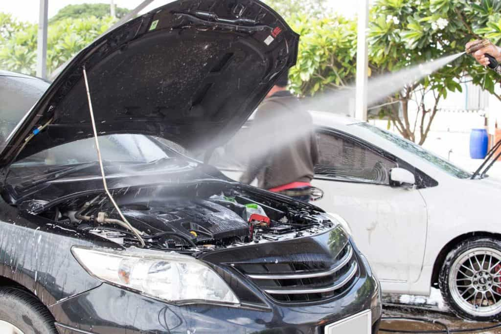 Cleaning car engine from clean care care service, How to Safely Wash a Car Engine [in 8 Steps]