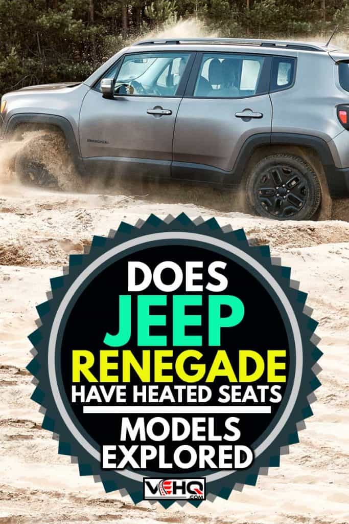 Fun in the desert with a 4x4 car. Jeep Renegade is doing great in the slushy sand, Does Jeep Renegade Have Heated Seats? [Models Explored]
