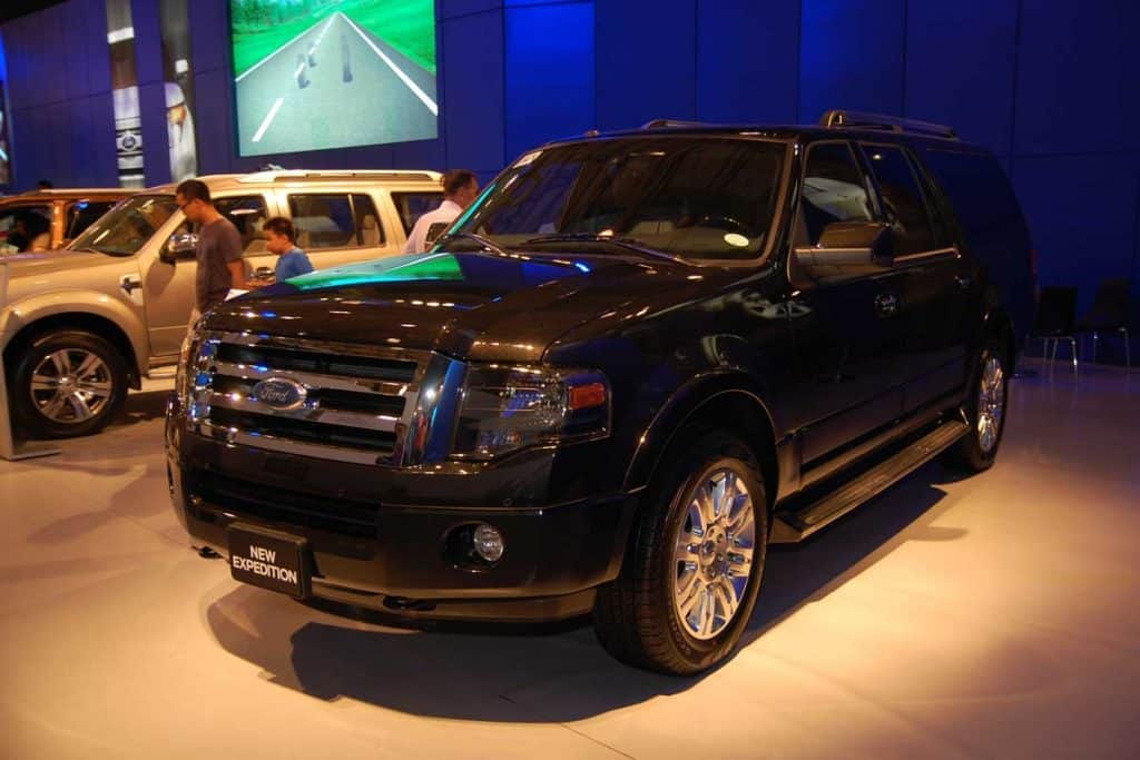Ford expedition at 8th Manila International Auto Show, How Heavy Is A Ford Expedition? [And How Much Weight Can It Hold?]