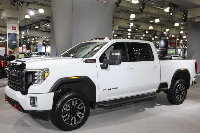 GMC Sierra displayed at the International Auto Show, How Many Miles Does a GMC Sierra Last?