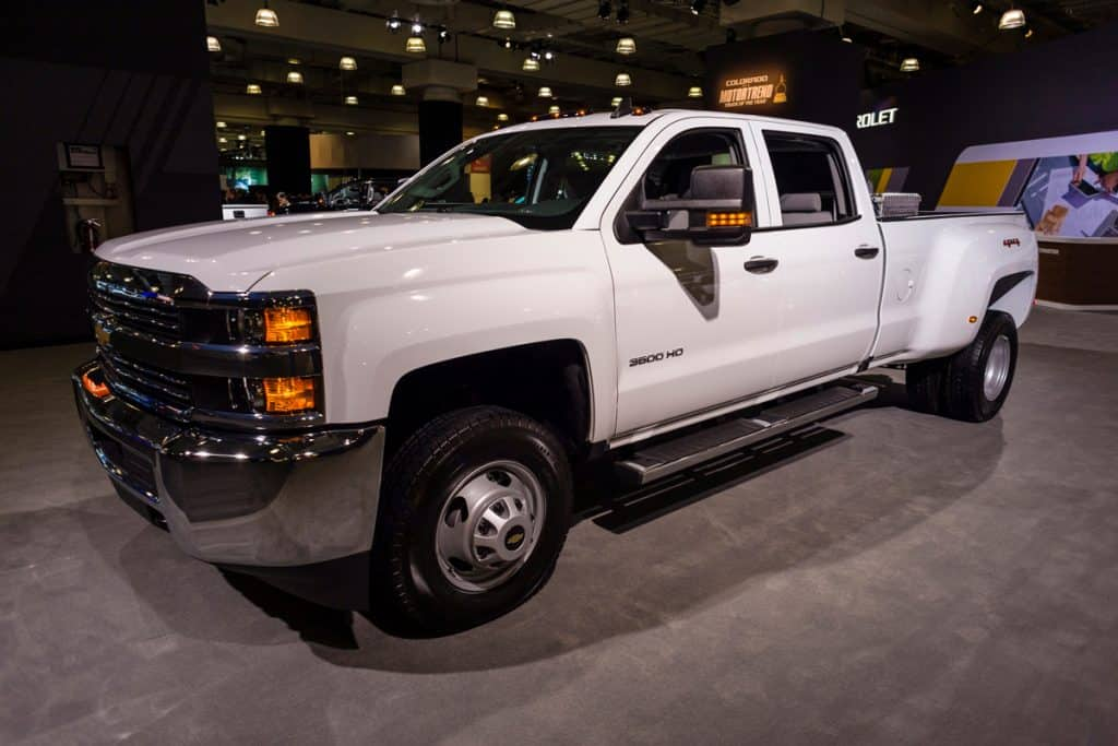 Huge white colored Chevy Silverado displayed on a car show, Chevrolet Silverado Not Starting: What Could Be Wrong?
