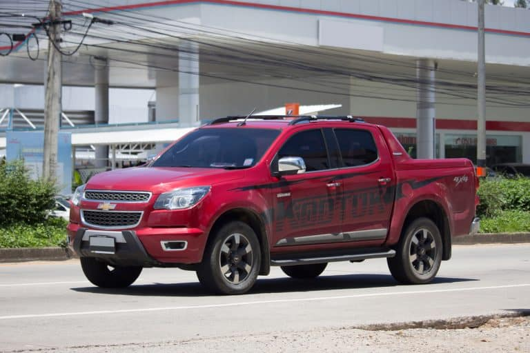 Red Chevrolet Colorado parked on a dealership, Chevy Colorado Not Starting - What Could Be Wrong?
