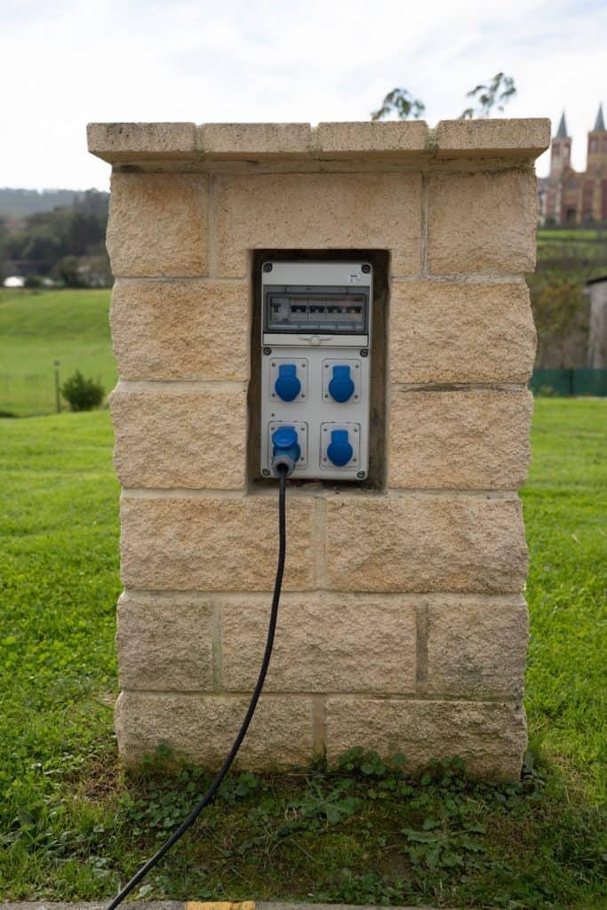 A charging station for EV's