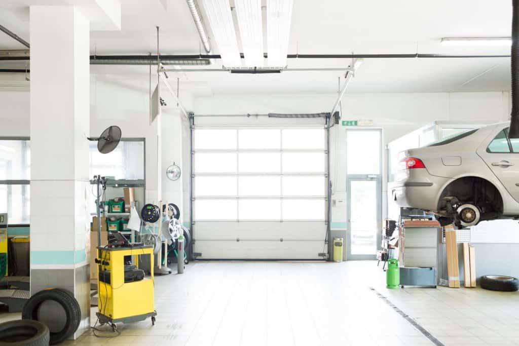 Auto repair shop, car garage